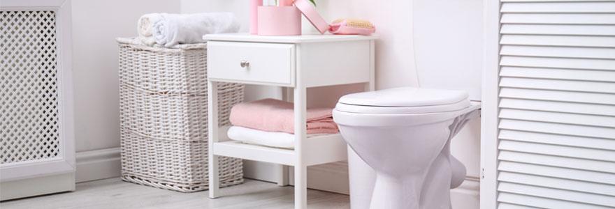 meubles de rangement WC